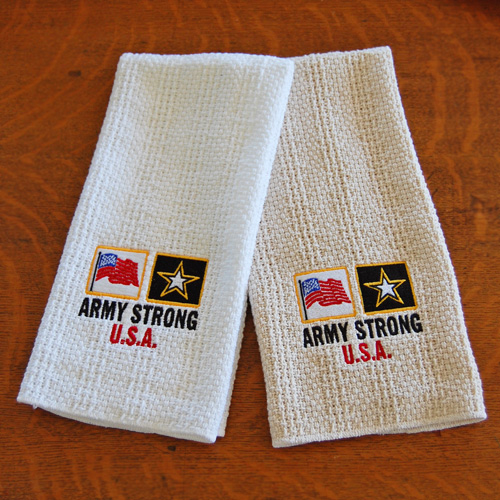 Army Strong In Squares On White Or Natural Us Marine Corps On White Or