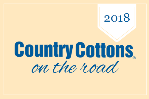 Country Cottons on the road - 2018