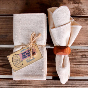 natural cotton table napkins (Duplicate)
